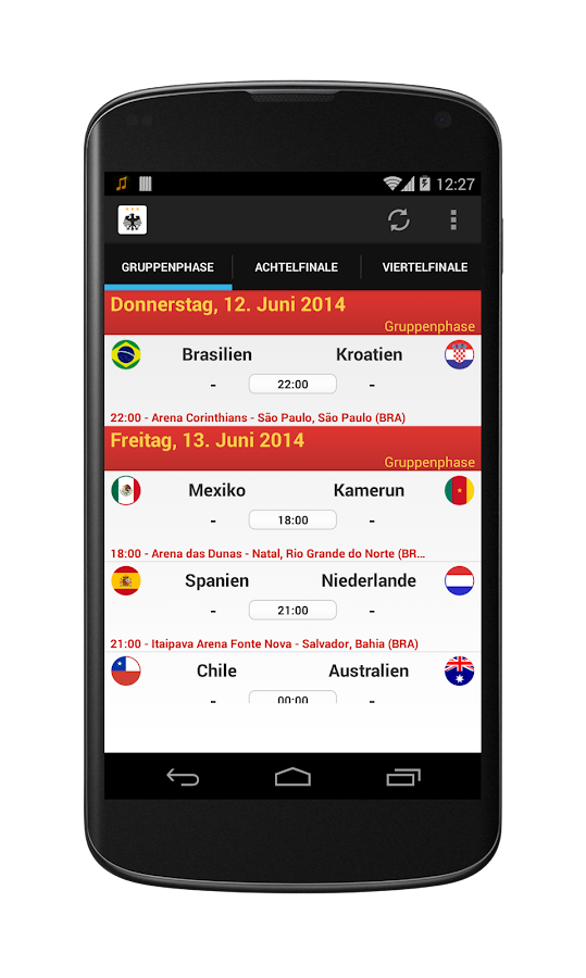 die mannschaft wm 2014 android apps on google play. Black Bedroom Furniture Sets. Home Design Ideas