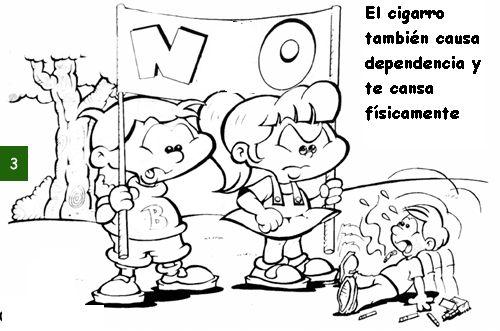 Plastilina Y Lápiz 20 De Noviembre Día De Los Derechos: Dibujos De Las Drogas Para Niños