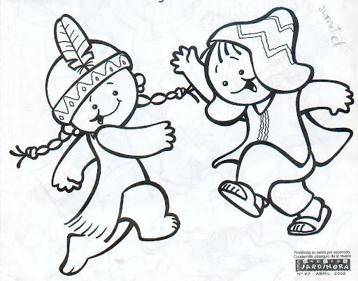 Dibujos De Pueblos Originarios