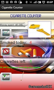 Cigarette Counter - screenshot thumbnail