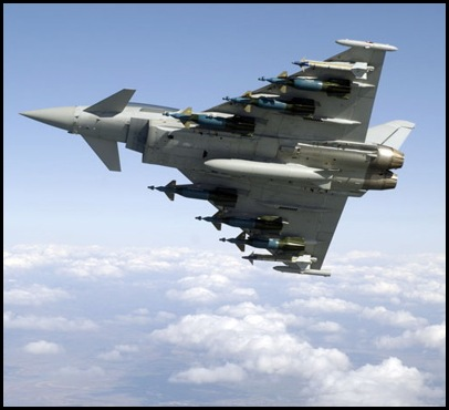 Avion Typhoon RAF