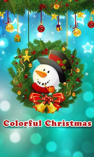 Colorful Christmas GO Theme