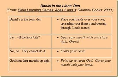 Sunday School Zone - Free Daniel in the Lion's Den Bible ...