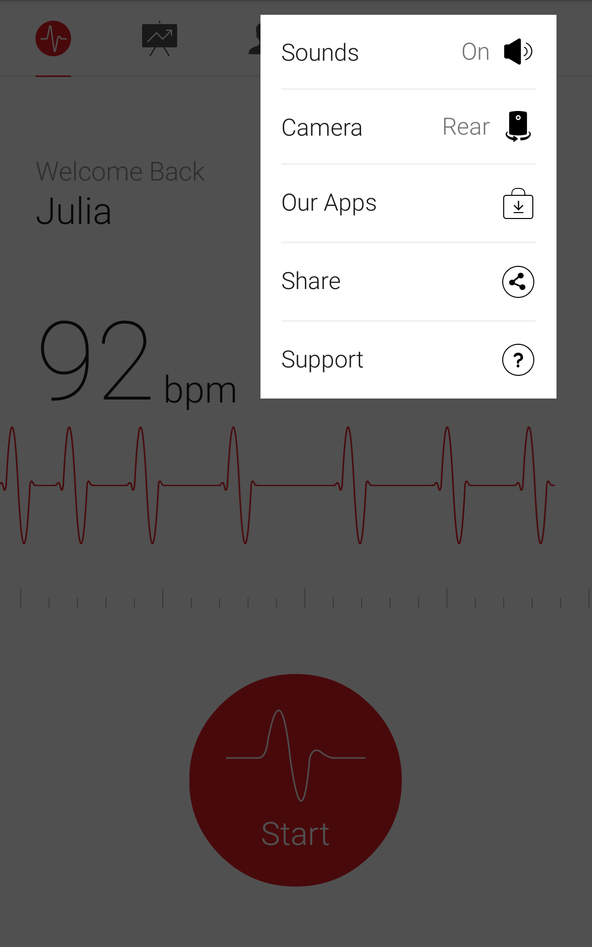 Cardiograph - Heart Rate Meter screenshot #14
