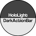 Dark ActionBar CM Theme icon