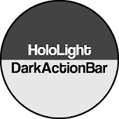 Dark ActionBar CM Theme
