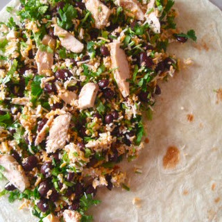 Grilled Chicken Quesadillas with Black Beans and Corn