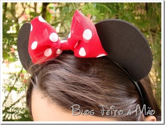Como fazer...  Tiara de Minnie e Mickey 22ab4670608