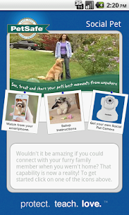 SocialPet by Petsafe - screenshot thumbnail