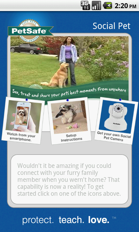 SocialPet by Petsafe - screenshot
