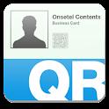 QR 명함 logo