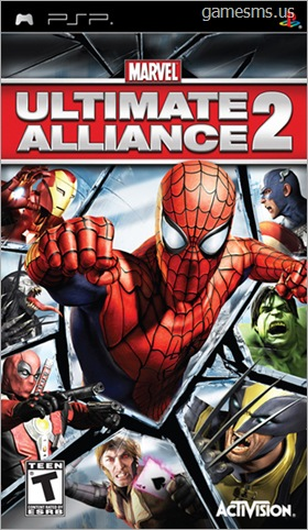 Marvel: Ultimate Alliance 2 PSP