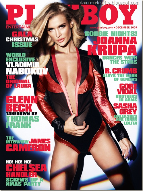 Joanna Krupa - Playboy December 2009 Cover