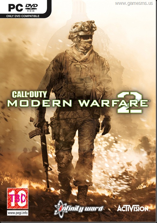 Call of Duty: Modern Warfare 2 UK BOX Cover