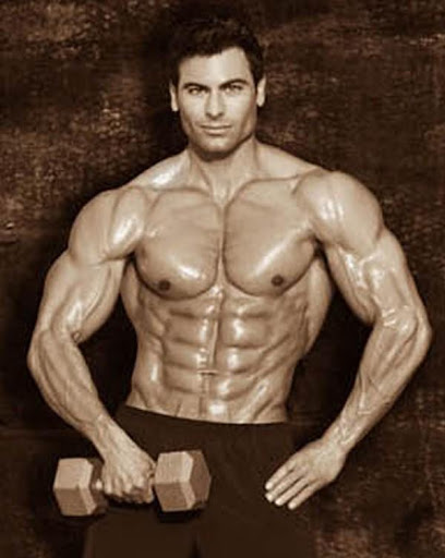 the asia fitness and health: T.J. Hoban - Muscle Hunk with