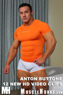 Anton Buttone - Muscle Hunk with Hot Round Glutes!