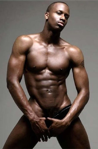 Opinion already Hot black muscle men