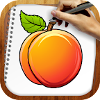 Draw Exotic Fruits