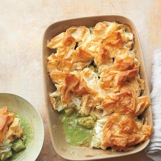 Green-Curry Chicken Potpie