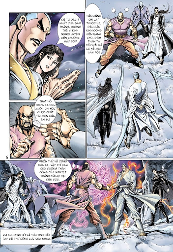 Tân Tác Long Hổ Môn Chap 121 page 6 - Truyentranhaz.net