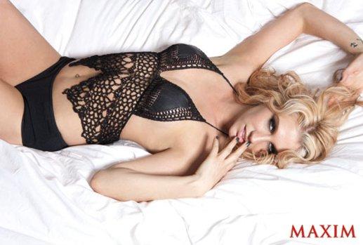 Blog de Fotos | SPGBR: Ke$ha posa para a revista Maxim