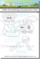 Little Dumplings Accessories set watermark