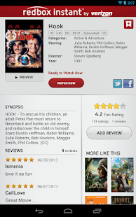 Redbox Instant by Verizon - screenshot thumbnail