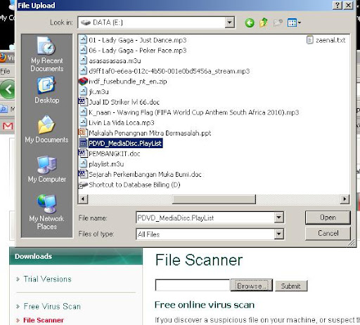 Scan File Virus Online