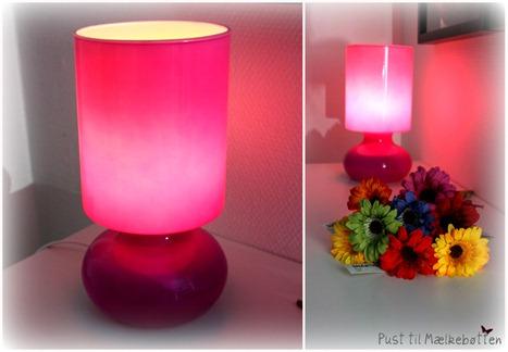 pust til m lkeb tten ny lampe og sykommode. Black Bedroom Furniture Sets. Home Design Ideas