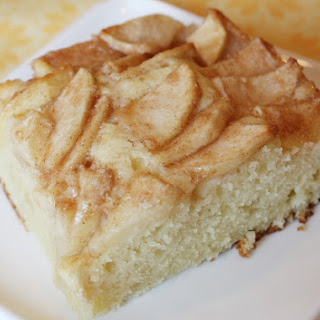 Apple- Topped Cream Cheese Coffee Cake