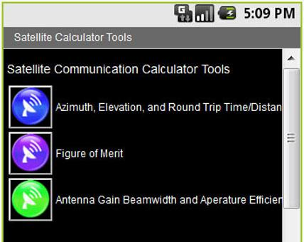 Satellite Calculator Tool
