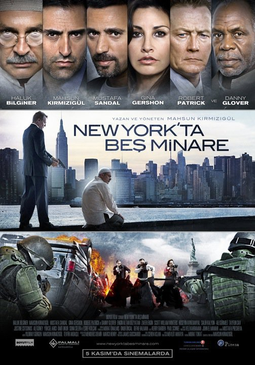 Five Minarets in New York, movie, poster