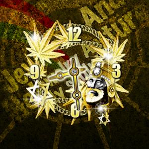Jah Bling clockWidget