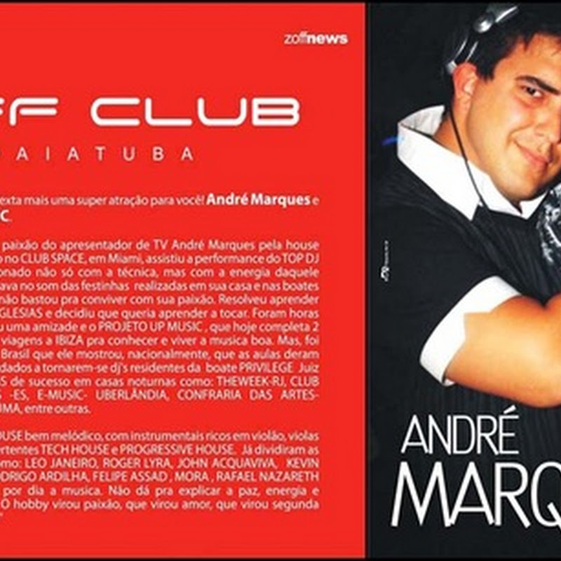 André Marques na Zoff Club