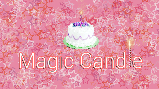 Magical Candle for Happy Bday