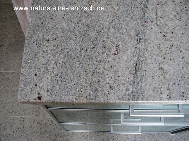 k che arbeitsplatte granit kashmir white granitplatte ebay. Black Bedroom Furniture Sets. Home Design Ideas
