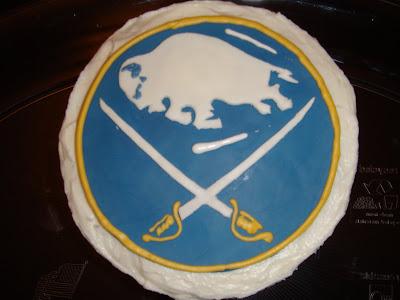 Buffalo Sabre Birthday Cake