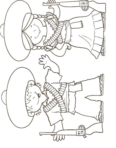 Dibujos Para Colorear Revolucion Mexicana - Dibujos Para Dibujar