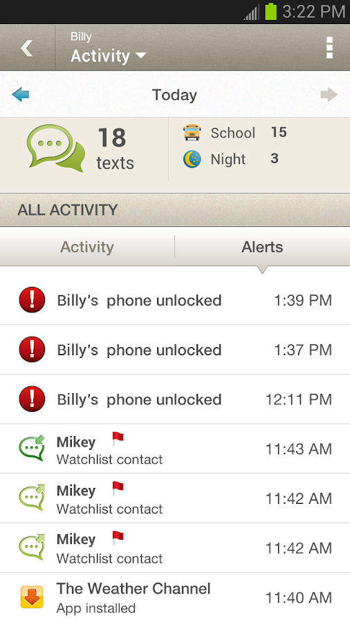 Sprint Mobile Controls - screenshot