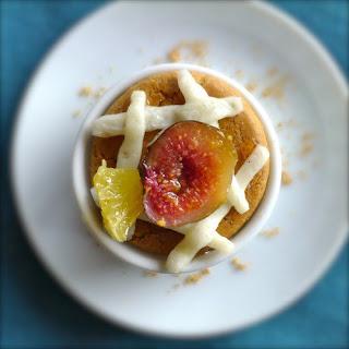 Vanilla Fig Gingersnap Bites.