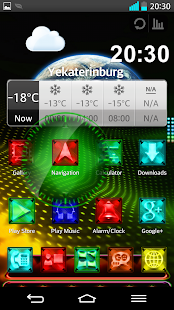 Next Launcher Theme LightingM - screenshot thumbnail