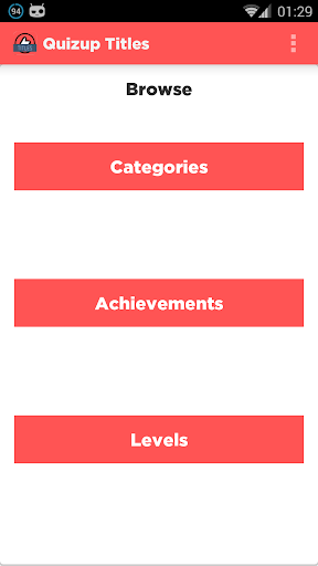 Quizup Titles: No Ads Version
