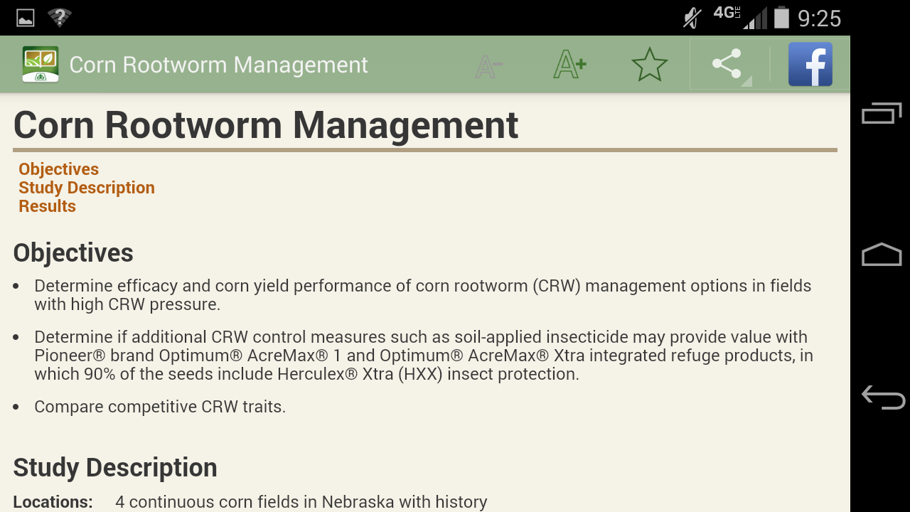 Pioneer GrowingPoint agronomy- screenshot