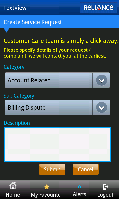 Reliance InstaCare - screenshot