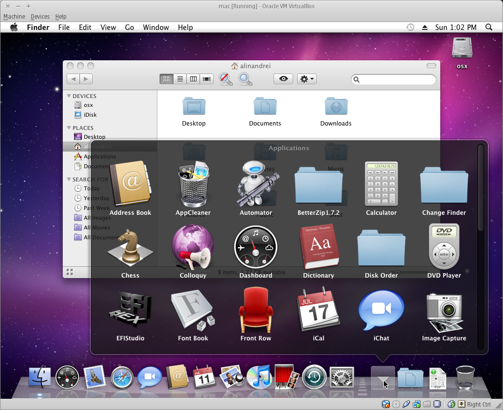 Run Mac OSX In Virtualbox Under Linux (Ubuntu) And Windows