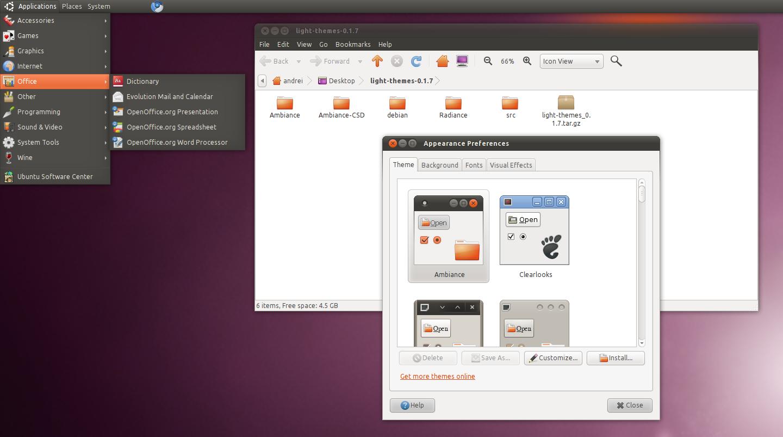 changer for ubuntu 10.10