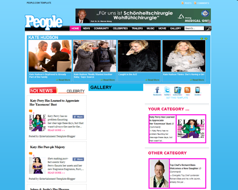 People Site Clone