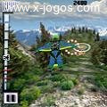 Base Jumper: Salte do penhasco e passe entre as argolas