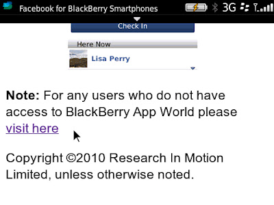 Missing Facebook notification tone - BlackBerry Forums at CrackBerry com