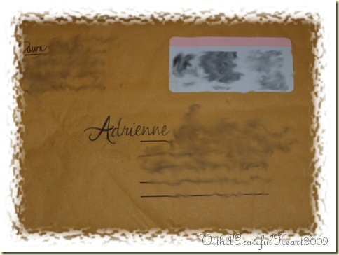 Dawn Gift - Envelope